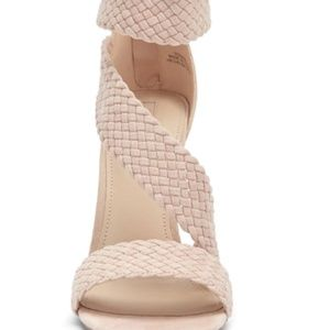 Forever 21 Fake Suede Braided Heel